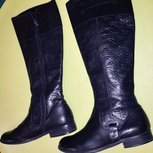 black riding boots for women size 8.5